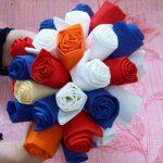 розы из салфеток идеи декора