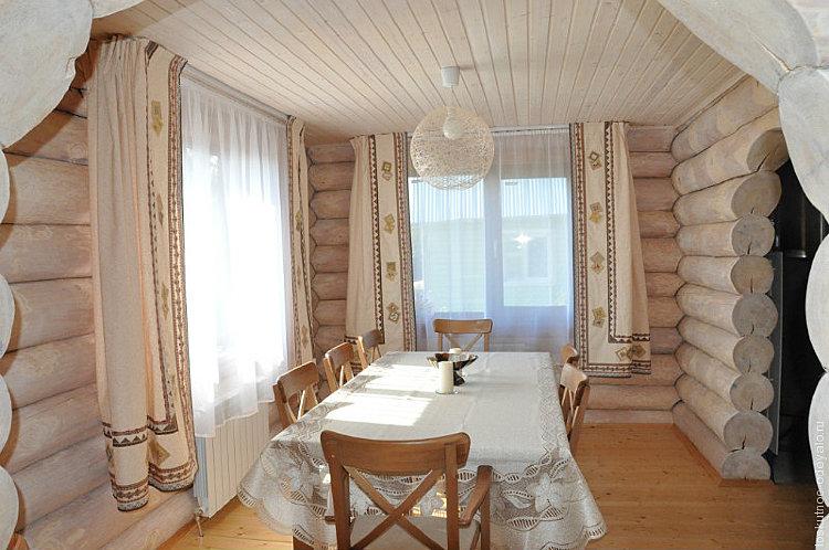 шторы в бане