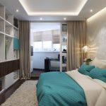 шторы в спальню с балконом фото идеи