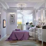 шторы в спальню с балконом фото вариантов