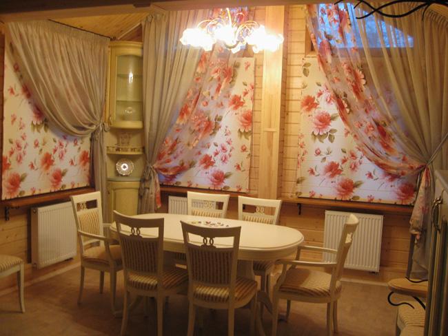 шторы на маленькие окна фото идеи