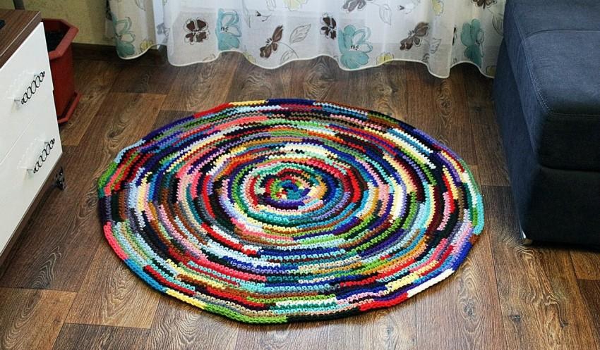 вязание ковриков