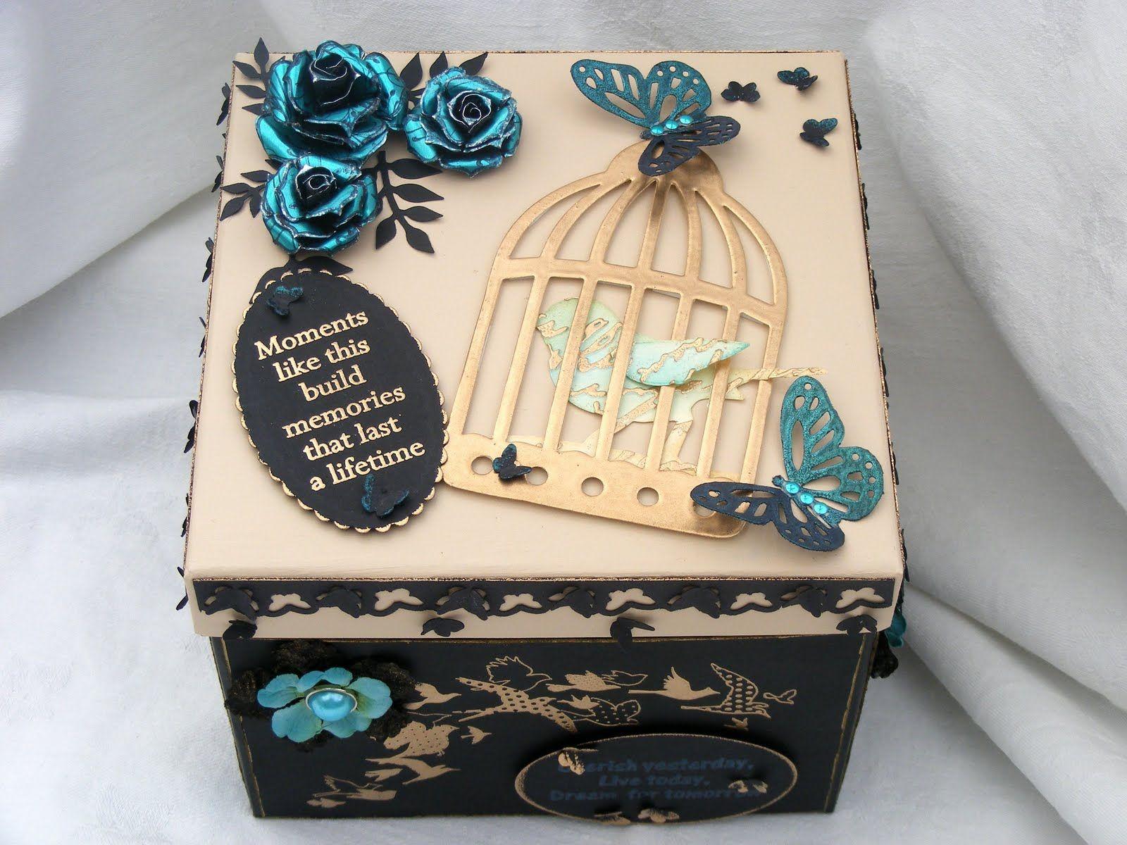 декор коробки фото