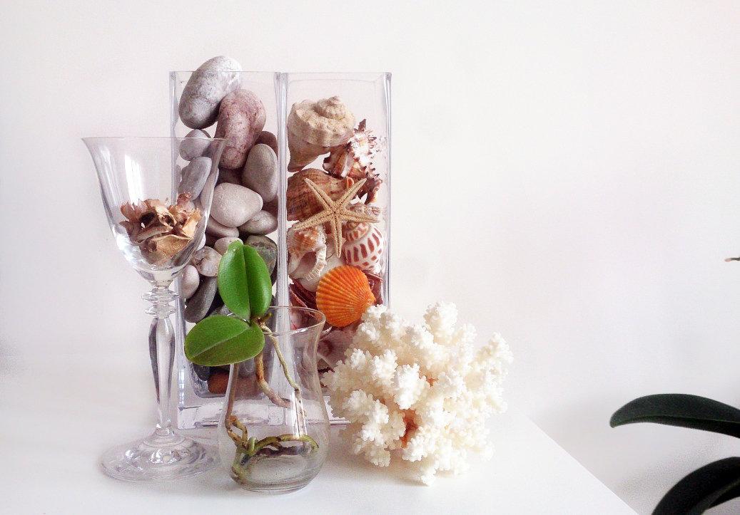 декор вазы наполнением