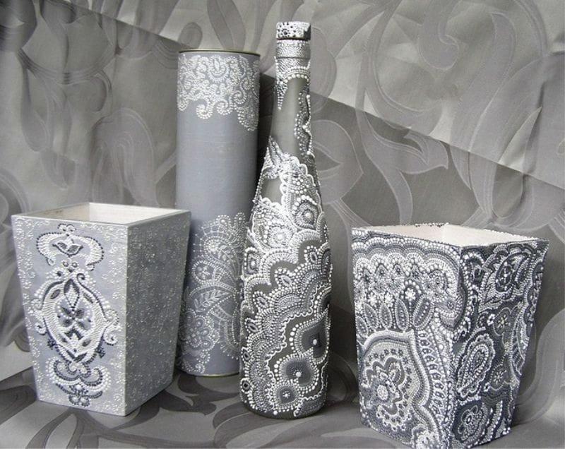 декор вазы пике фото