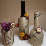 декор вазы своими руками фото оформления