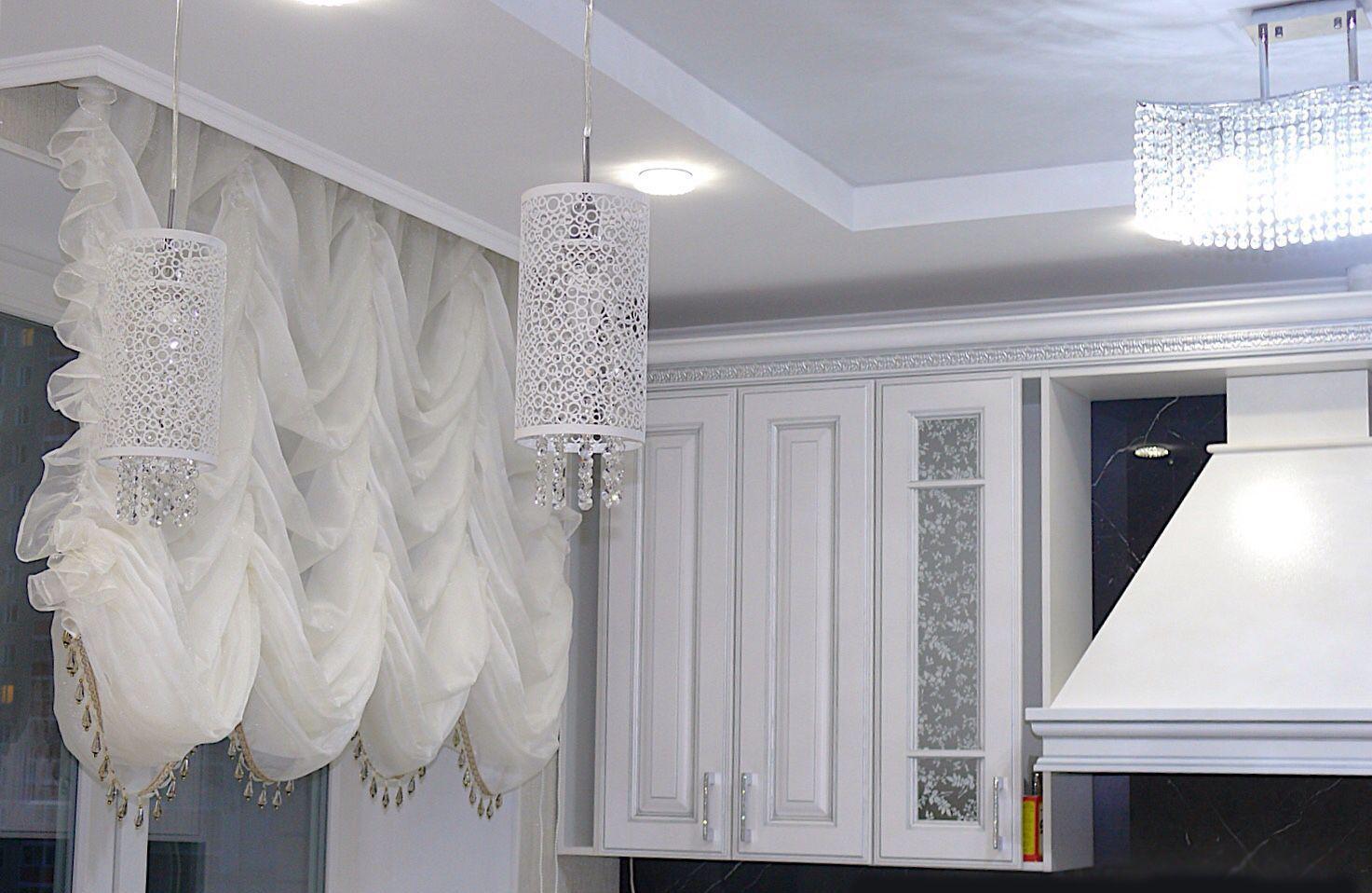 французские шторы фото дизайн