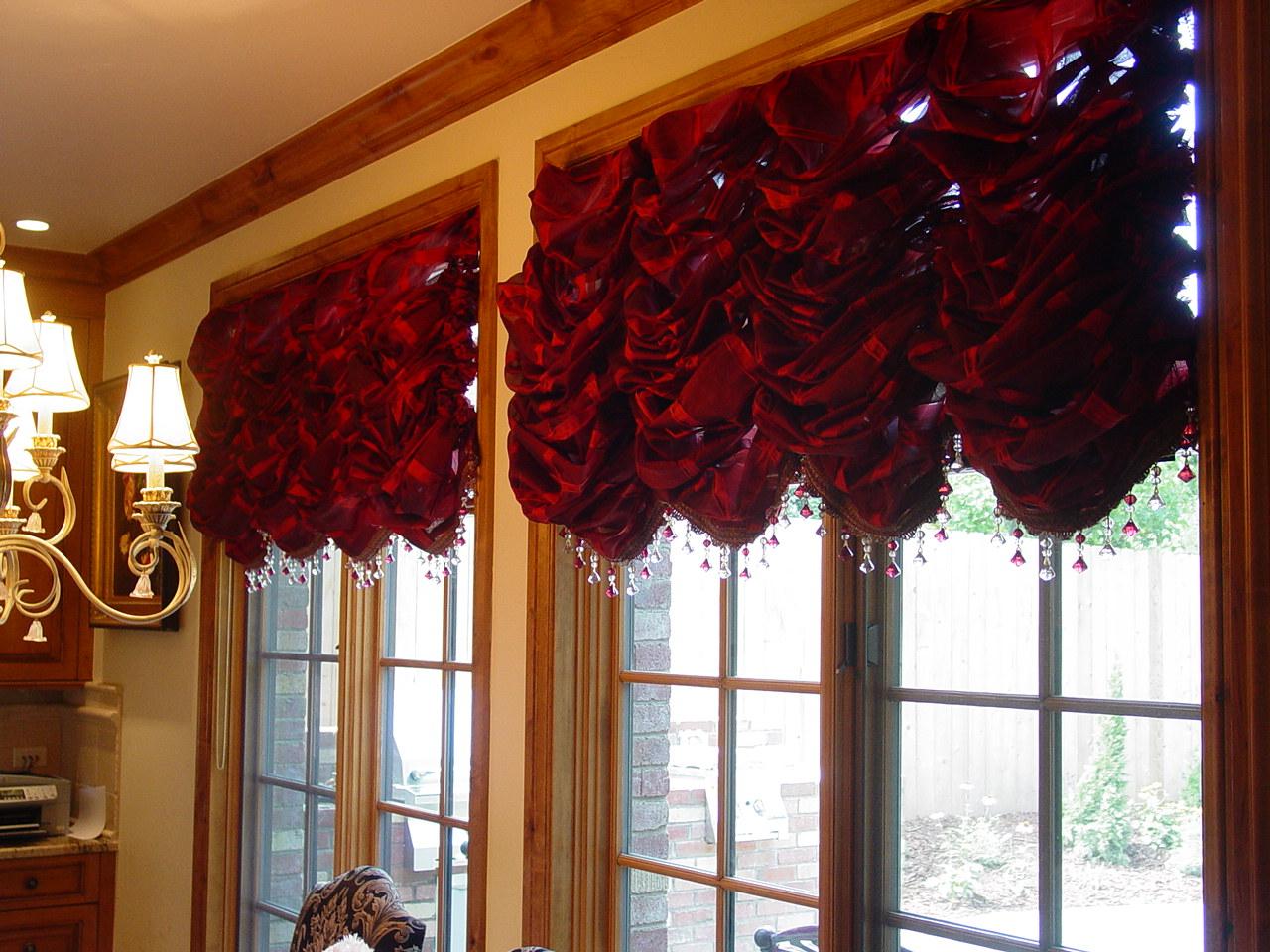 французские шторы фото идеи