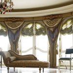 французские шторы оформление фото