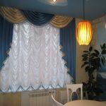 французские шторы фото оформления