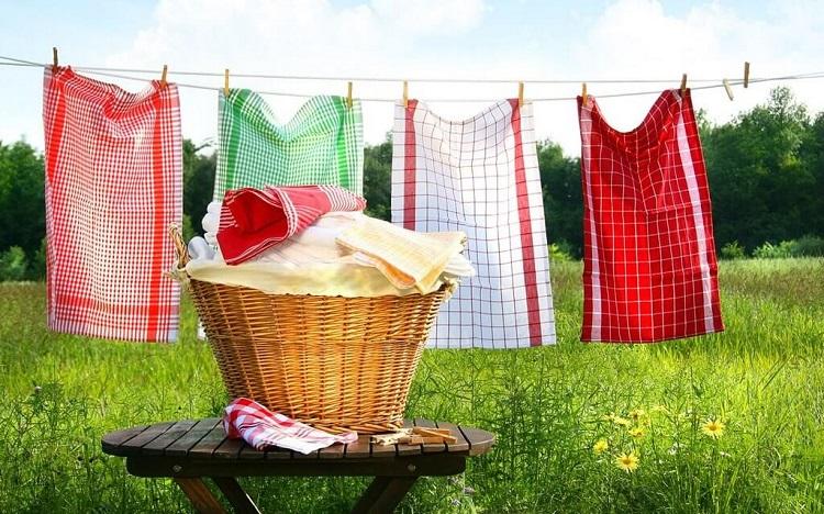 как отстирать кухонные полотенца идеи фото
