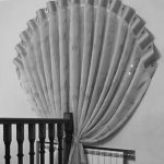 как повесить шторы без карниза идеи интерьер
