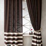 комбинированные шторы декор фото