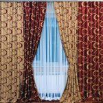 комбинированные шторы дизайн оформления