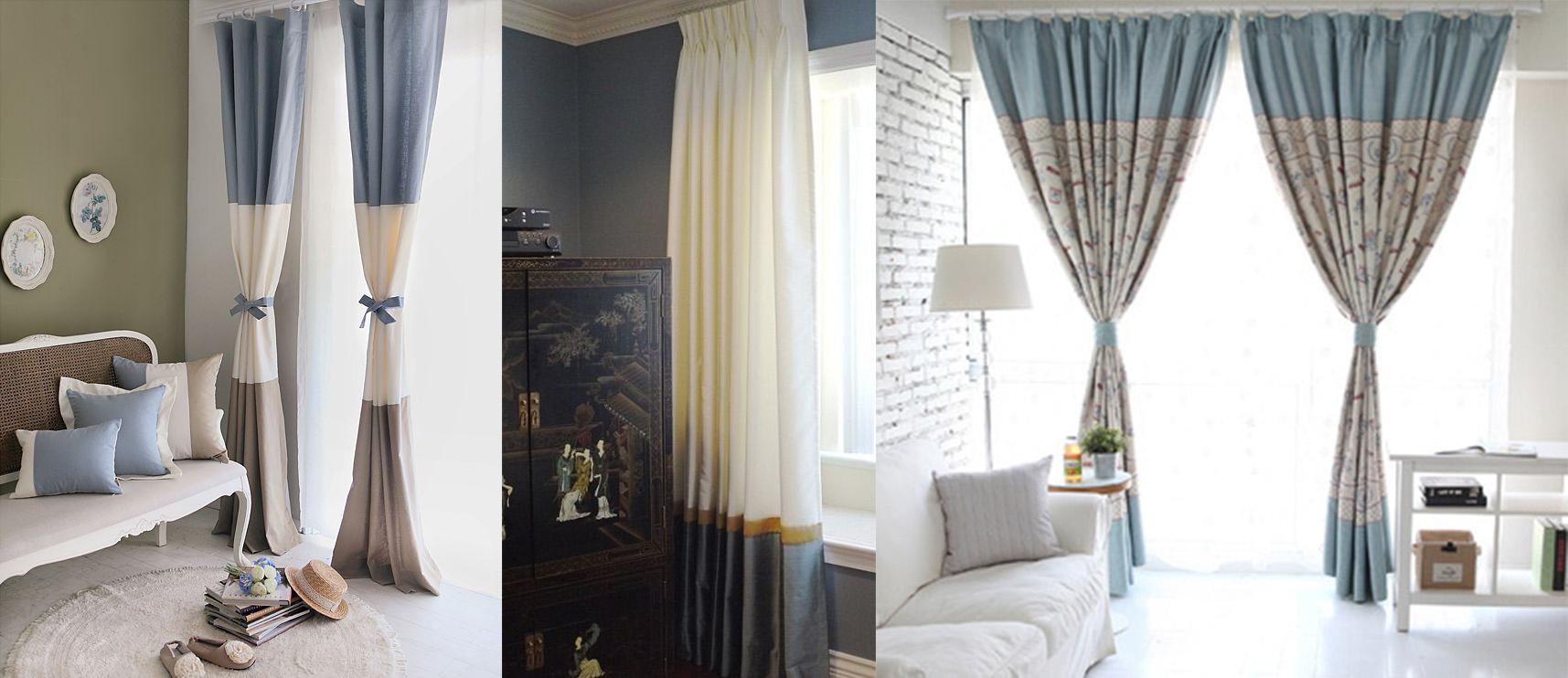комбинированные шторы фото идеи