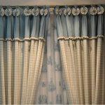 комбинированные шторы фото оформления