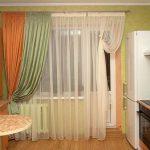 комбинированные шторы обзор фото