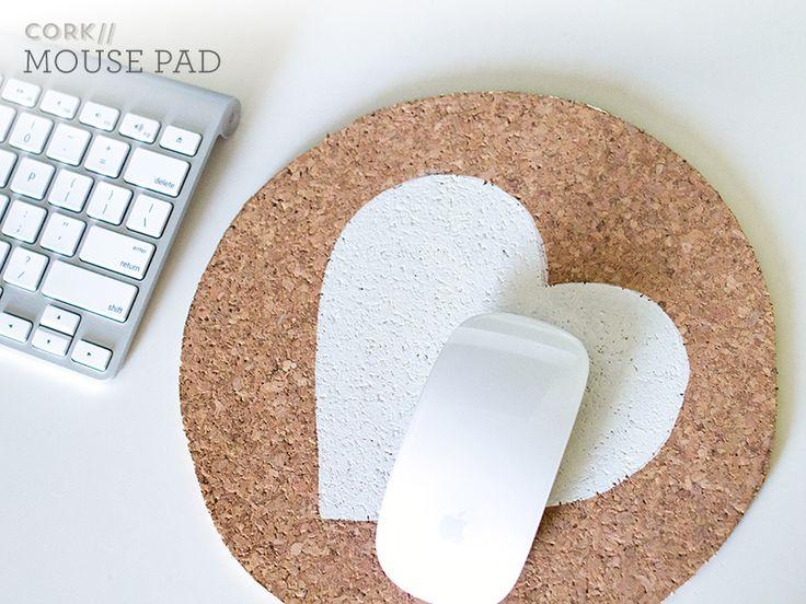 коврик для компьютерной мыши пробковый