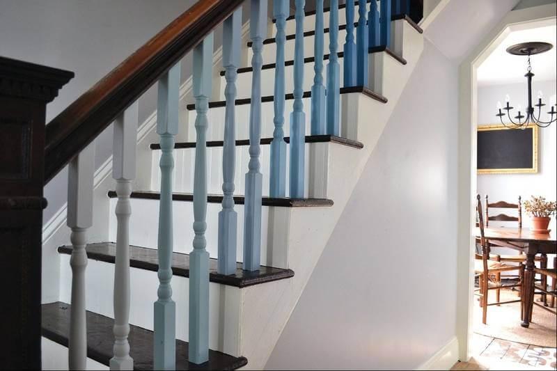 лестница омбре