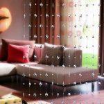 шторы межкомнатные обзор фото