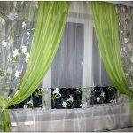шторы из органзы дизайн фото