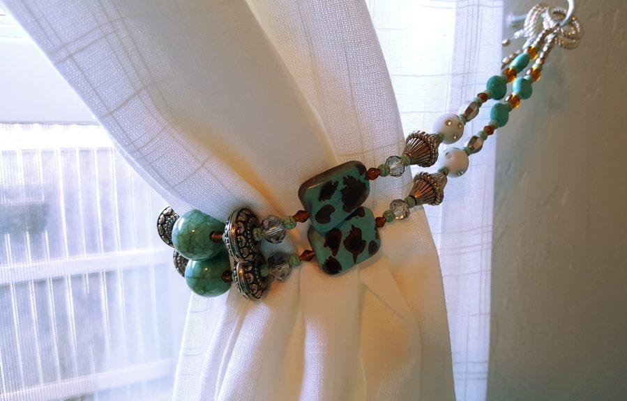 подхваты для штор ожерелье