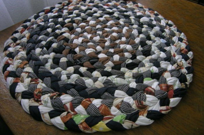 коврик из футболок