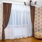 расчет ткани на шторы интерьер фото