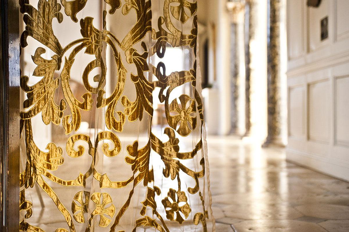 парчовые шторы