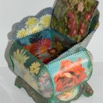 шкатулка из открыток фото декор