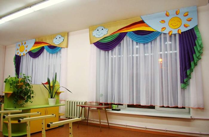 шторы для детского сада дизайн фото