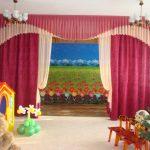 шторы для детского сада фото оформление