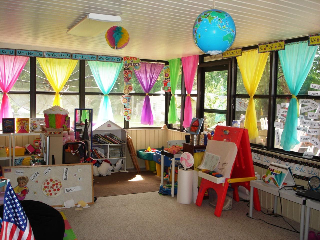 шторы для детского сада идеи интерьер