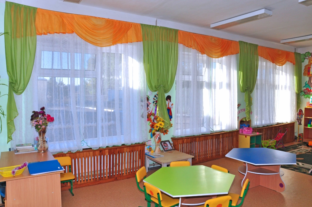 шторы для детского сада интерьер идеи