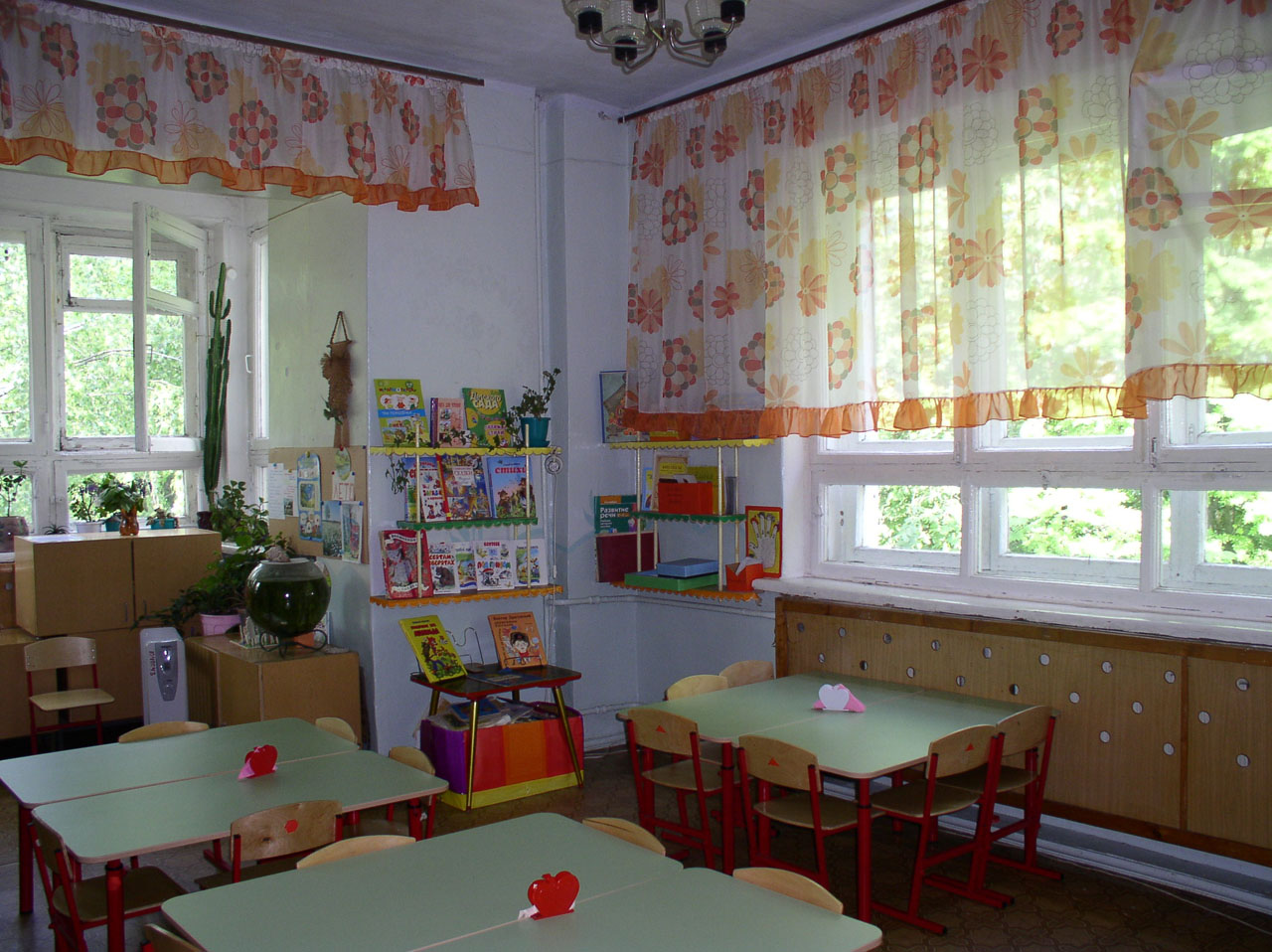 шторы для детского сада оформление фото