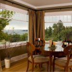 шторы на панорамные окна идеи фото