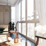 шторы на панорамные окна идеи интерьера