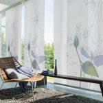 шторы на панорамные окна оформление идеи