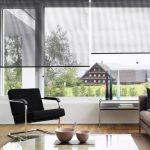 шторы на панорамные окна текстиль фото