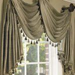 шторы и тюль без карниза дизайн