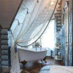 шторы и тюль без карниза фото оформление