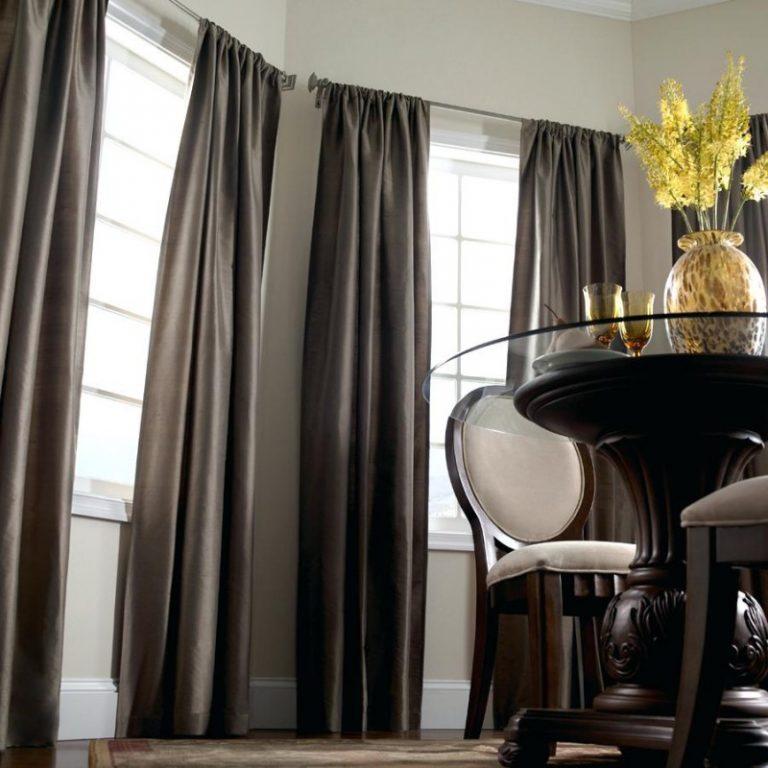 шторы из габардина фото оформления