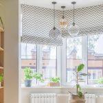 шторы на эркерное окно декор фото