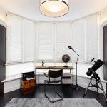 шторы на эркерное окно фото интерьер
