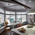 шторы на эркерное окно идеи дизайна