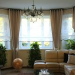 шторы на эркерное окно варианты идеи
