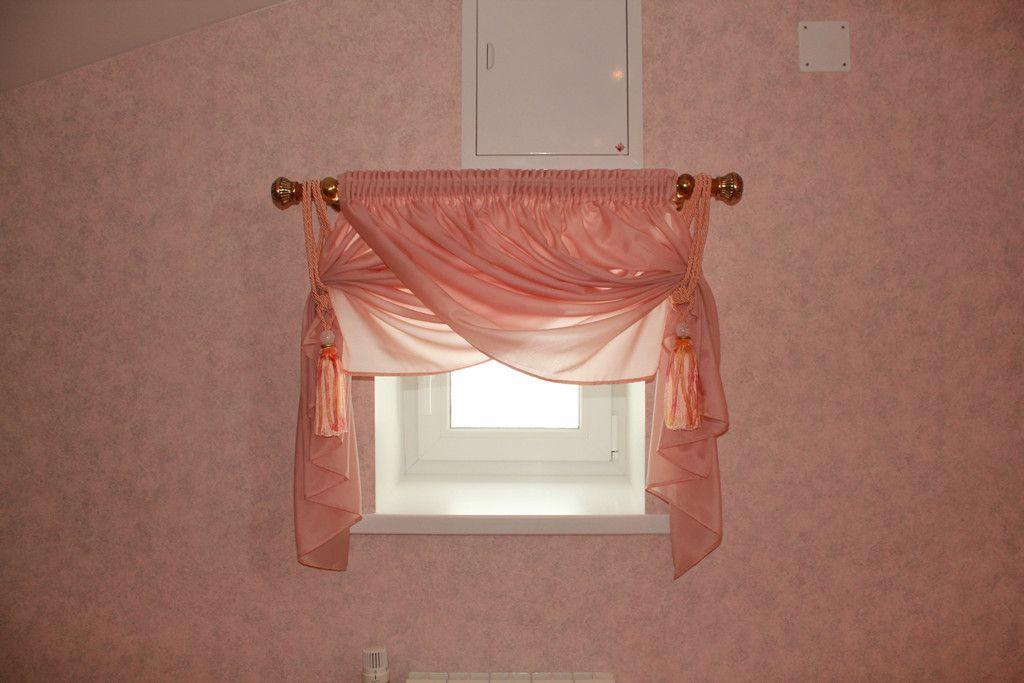 шторы на маленькие окна