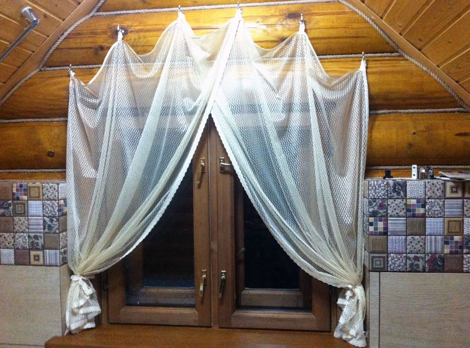 шторы на маленькие окна идеи декора
