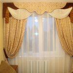 шторы на маленькие окна идеи интерьер
