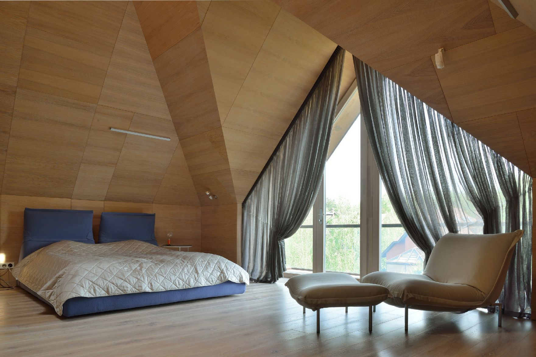 шторы на мансардные окна фото декора